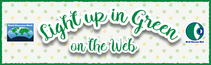緑内障啓発活動 Light up in Green on the Web ロゴ